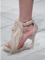 2016-17秋冬(AW)Alexander McQueen女鞋凉鞋发布会