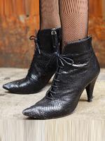 2018SS女鞋靴子街拍时尚