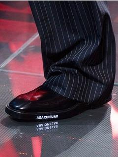 2019-20秋冬(AW)Balenciaga女鞋靴子T台