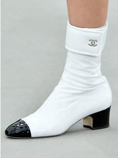 2020SSChanel女鞋靴子T台