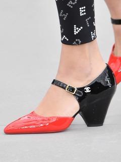 2020SSChanel女鞋单鞋T台
