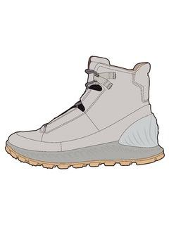 2020-21秋冬(AW)男鞋靴子设计手稿