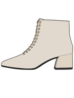 2020-21秋冬(AW)女鞋靴子设计手稿