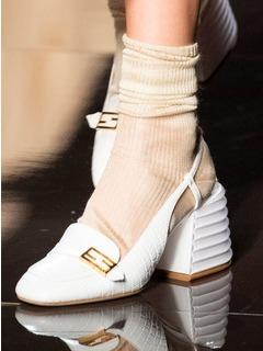 2020SSFendi女鞋单鞋T台