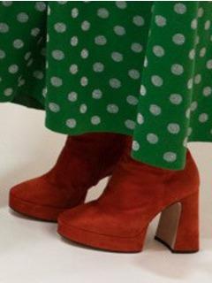 2020SSGucci女鞋靴子T台