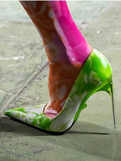 2020SSVersace女鞋单鞋T台