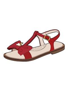 童鞋凉鞋设计手稿