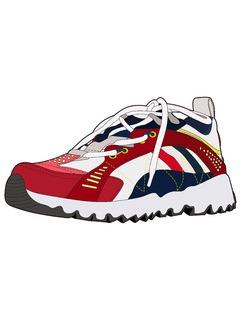 男鞋单鞋设计手稿
