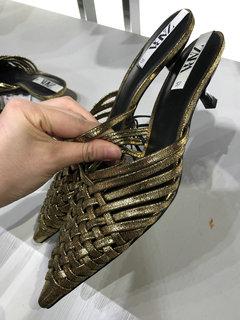 2020SSZara女鞋拖鞋商场实拍