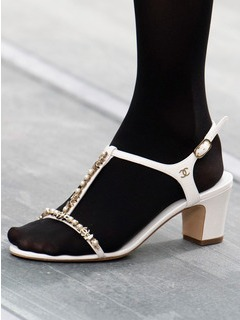2020SSChanel女鞋凉鞋T台