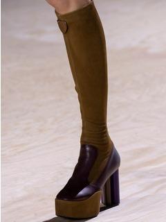 2020SSLouis Vuitton女鞋靴子T台