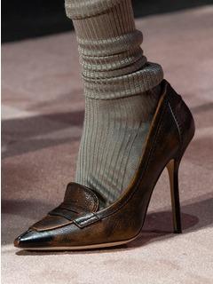2020-21秋冬(AW)Dsquared2女鞋单鞋T台