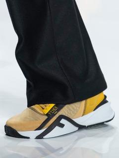 2020-21秋冬(AW)Fendi男鞋单鞋T台