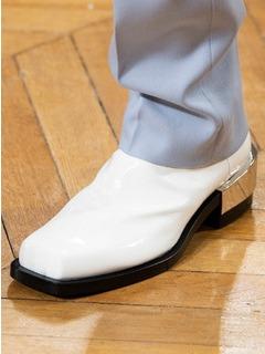 2020-21秋冬(AW)Givenchy男鞋靴子T台