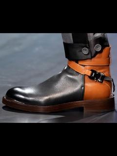 2020-21秋冬(AW)Christian Dior男鞋靴子T台