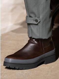 2020-21秋冬(AW)Hermes男鞋靴子T台