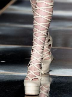 2020-21秋冬(AW)Moschino女鞋凉鞋T台