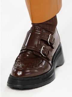20/21秋冬Hermes女鞋单鞋T台