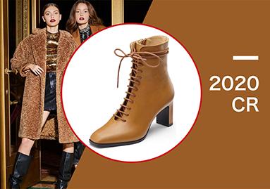 系帶靴強勢回歸 | 2020早春靴子爆款推薦