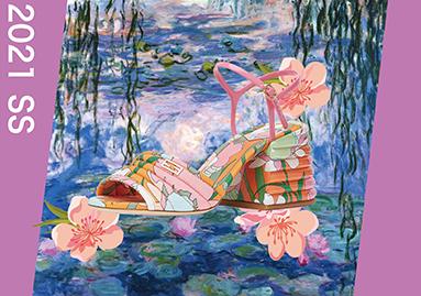 莫奈花园--2021春夏女鞋色彩趋势