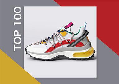 TOP 100   2021年2月男鞋大数据分析
