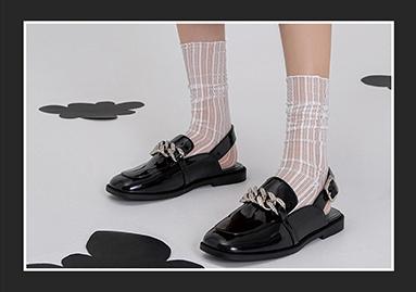 中/后空休闲单鞋--2022春夏女鞋单品趋势